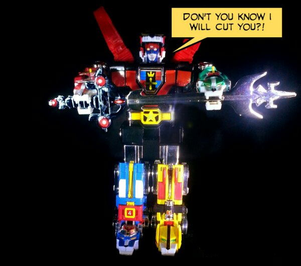 Sorry Kids But My Voltron Would Own Your Megazord